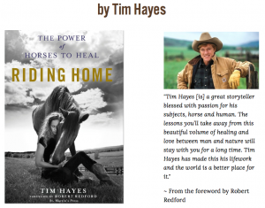 book TIM HAYSES POWER HORSES TO HEAL